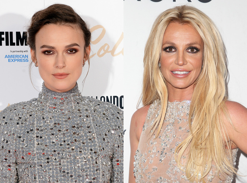 Keira Knightley, Britney Spears