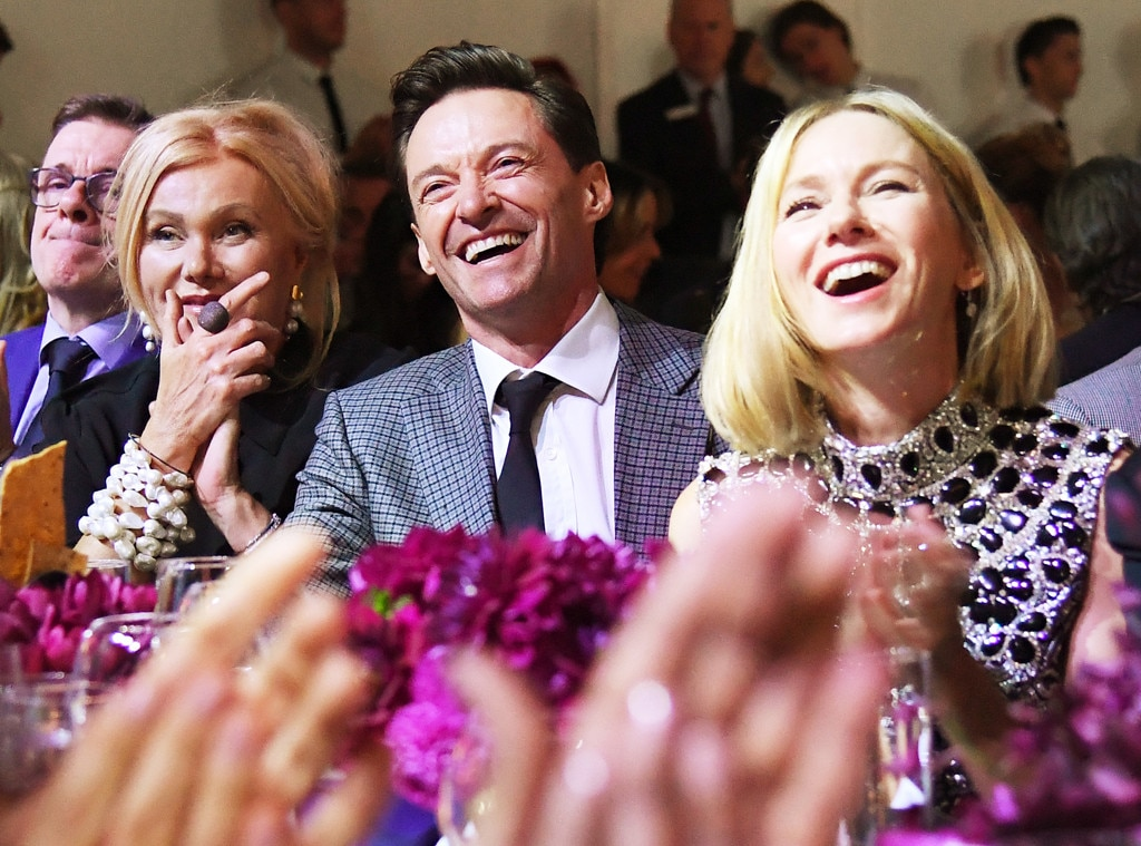 Deborra-lee Furness, Hugh Jackman & Naomi Watts -  Fun times!