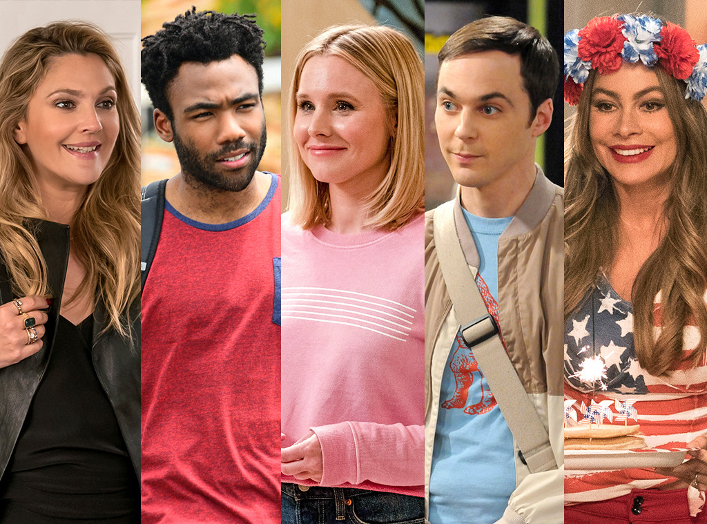 People's Choice Awards 2018, Comedy TV Star, Drew Barrymore, Donald Glover, Kristen Bell, Jim Parsons, Sofia Vergara