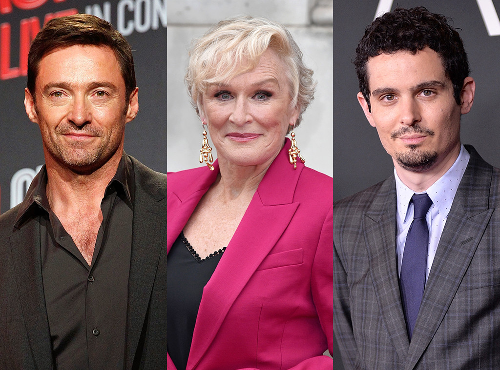 Hugh Jackman, Glenn Close, Damien Chazelle