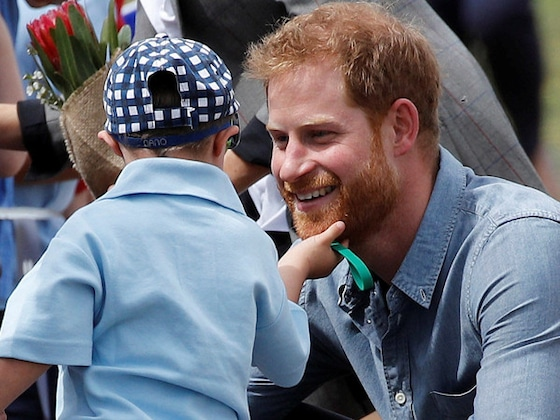 5-Year-Old Boy Steals Prince Harry and Meghan Markle's Hearts on Royal Tour