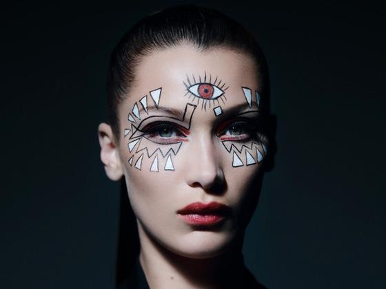 Bella Hadid Reveals the Ultimate Halloween Makeup in New Dior Short Film