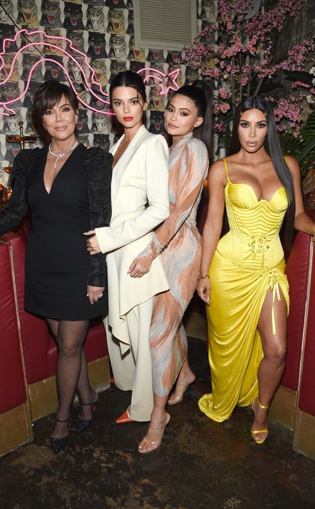 ESC: Kris Jenner, Kendall Jenner, Kylie Jenner, Kim Kardashian