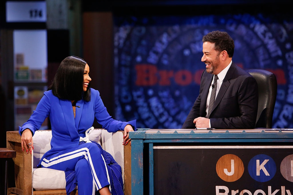 Cardi B, Jimmy Kimmel Live