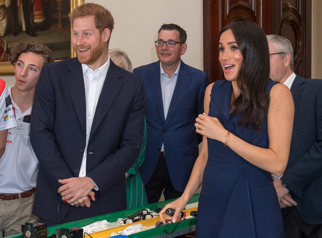 Prince Harry, Meghan Markle, Startled