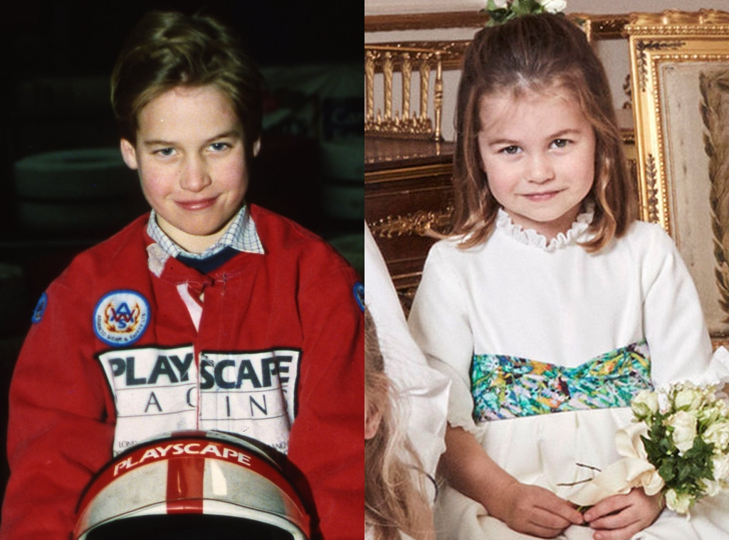 These Pictures Prove Princess Charlotte Is Prince William's Mini-Me