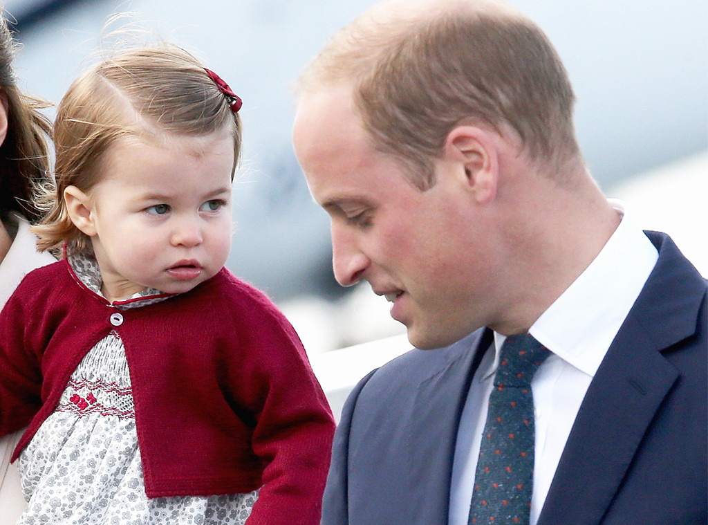 Prince William, Princess Charlotte