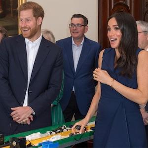 Prince Harry, Meghan Markle, Startled