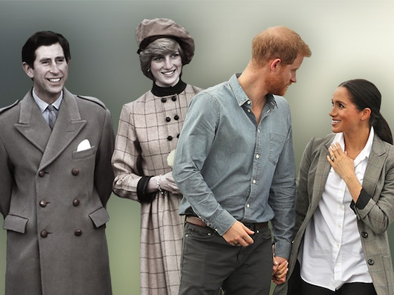 The Surprising Ways Prince Harry and Meghan Markle's Marriage Follows Prince Charles and Princess Diana
