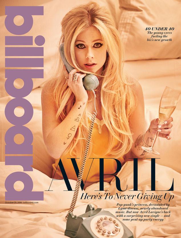 Avril Lavigne, Billboard