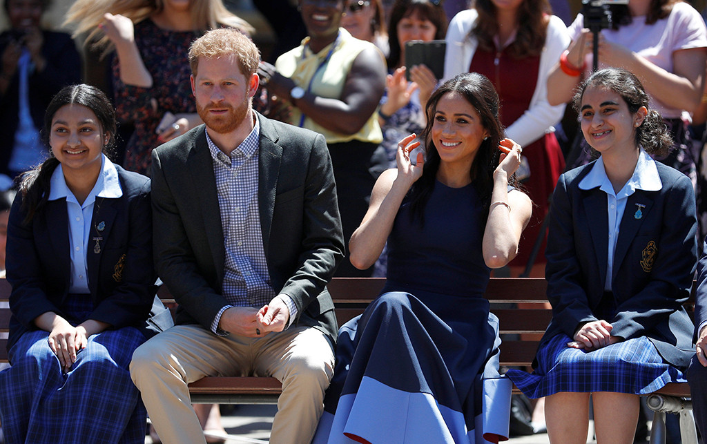 Prince Harry, Meghan Markle, Macarthur Girls High School Visit