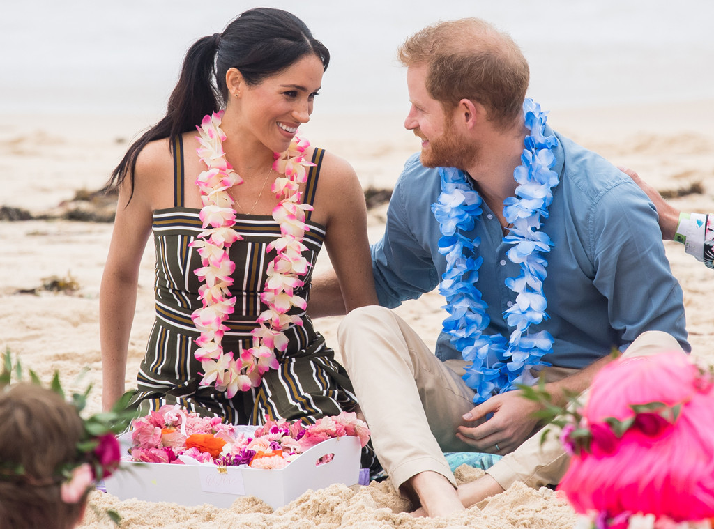 Prince Harry, Meghan Markle, Bondi Beach