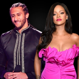 Colin Kaepernick, Rihanna, Graphic, Split