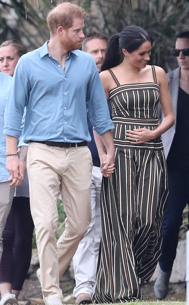 Prince Harry, Meghan Markle, Baby Cradle