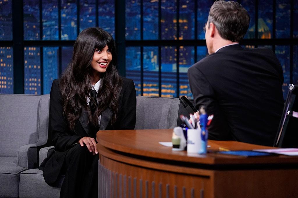 Jameela Jamil, Late Night With Seth Meyers