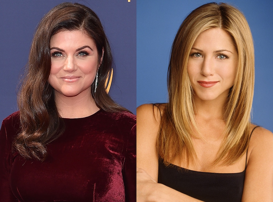 Tiffani Thiessen, Jennifer Aniston