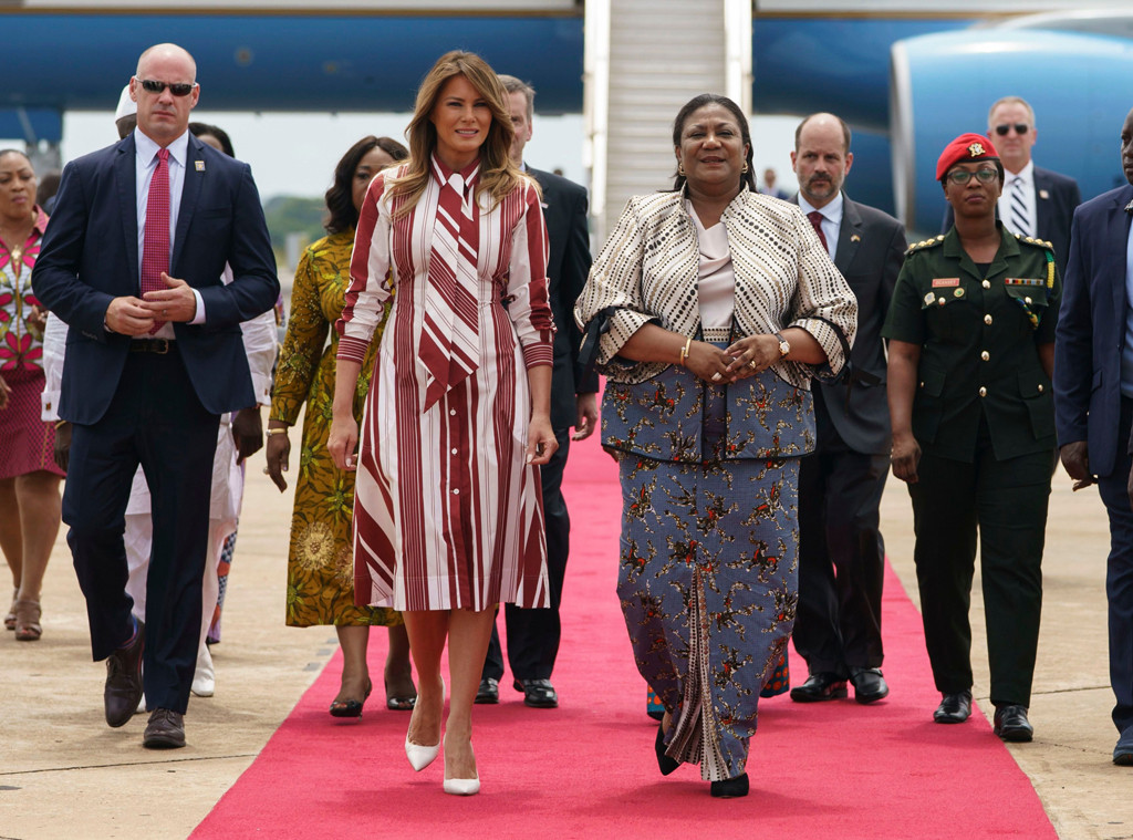 US First Lady, Melania Trump, Rebecca Akufo-Addo, Ghana First Lady
