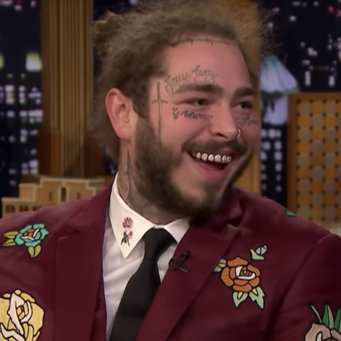 Post Malone Got His First Tattoo To Prove He S Tougher Than Justin