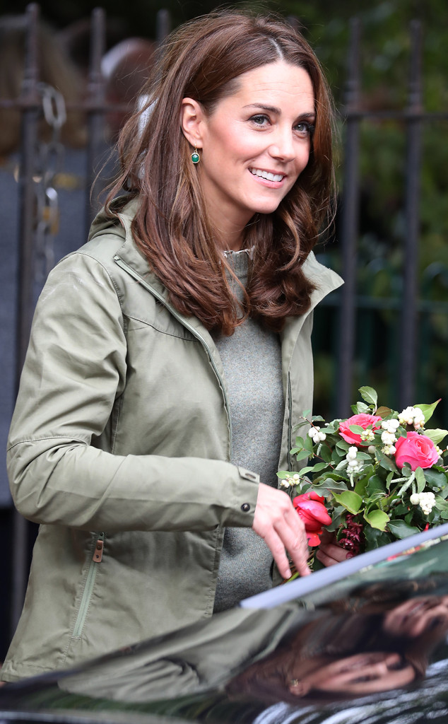 Kate Middleton, Sayers Croft Forest School Visit