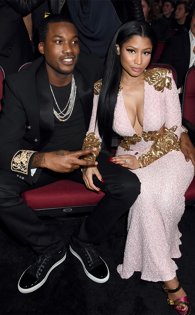 Meek Mill, Nicki Minaj, 2015 American Music Awards