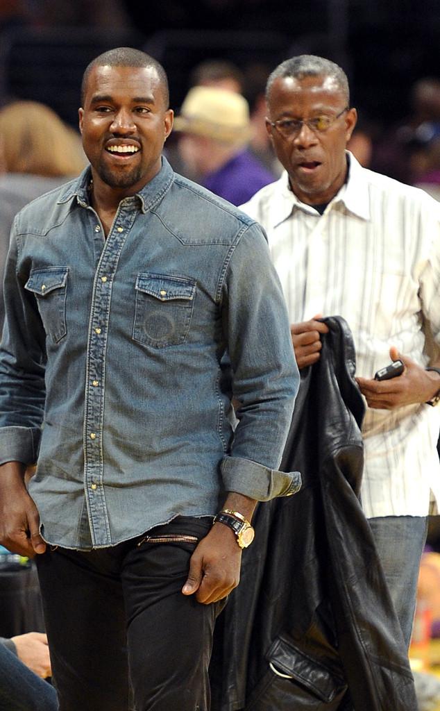 Kanye West, Ray West, 2011