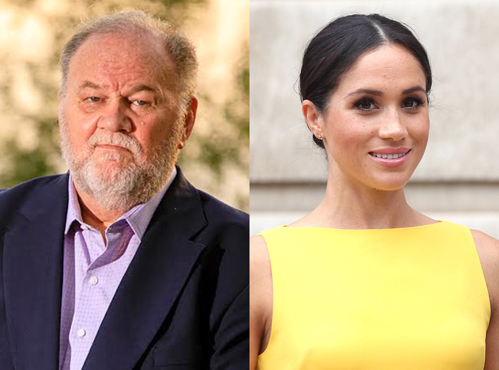 Image result for meghan markle thomas markle