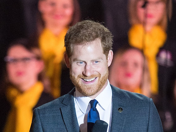 Prince Harry References His and Meghan Markle's Baby at Invictus Games Opening Ceremony