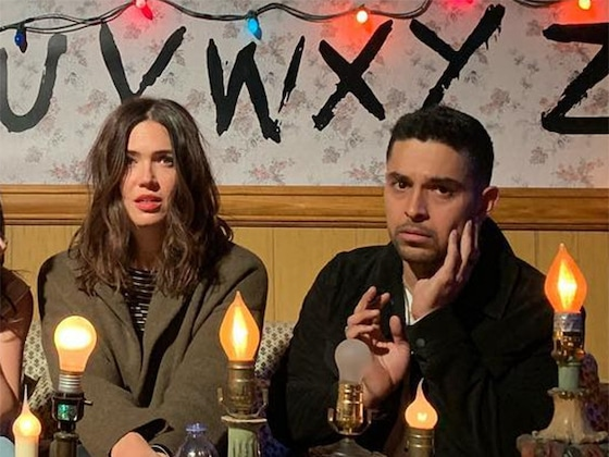Mandy Moore and Wilmer Valderrama Reunite for Annual Halloween Tradition