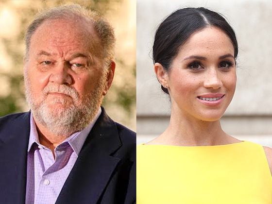 "Thomas Markle Says Meghan Markle and Prince Harry Have Put Up a ""Wall of Silence"""