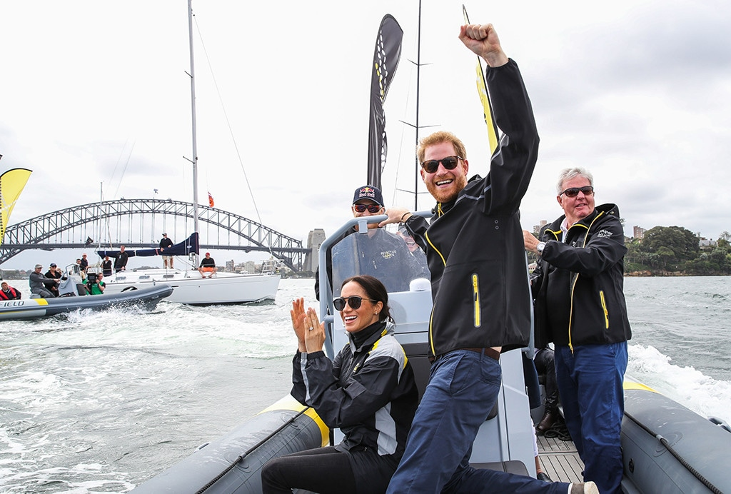 Meghan Markle, Pregnant, Prince Harry, Sailing, Invictus Games, Royal Tour, Sydney