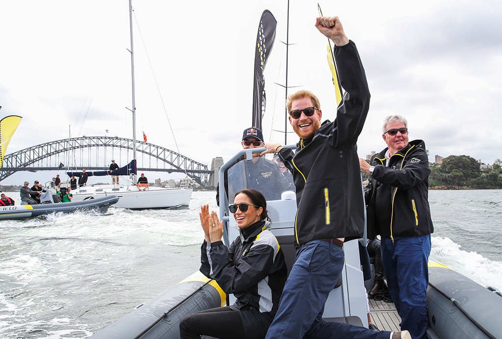 Meghan Markle, Pregnant, Prince Harry, Sailing, Invictus Games, Royal Tour, Sydney