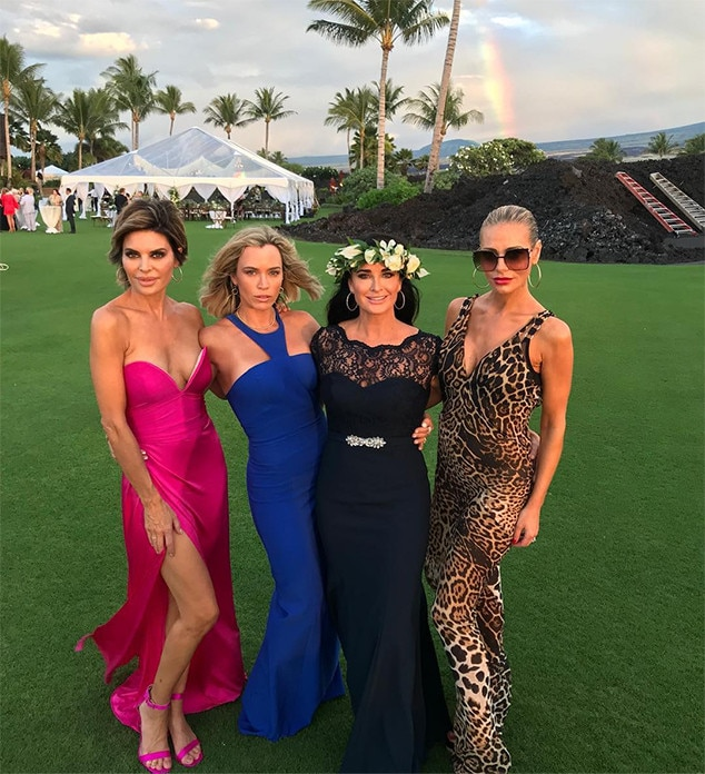 Lisa Rinna, Teddi Mellencamp Arroyave, Kyle Richards, Dorit Kemsley, Camille Grammer, Wedding