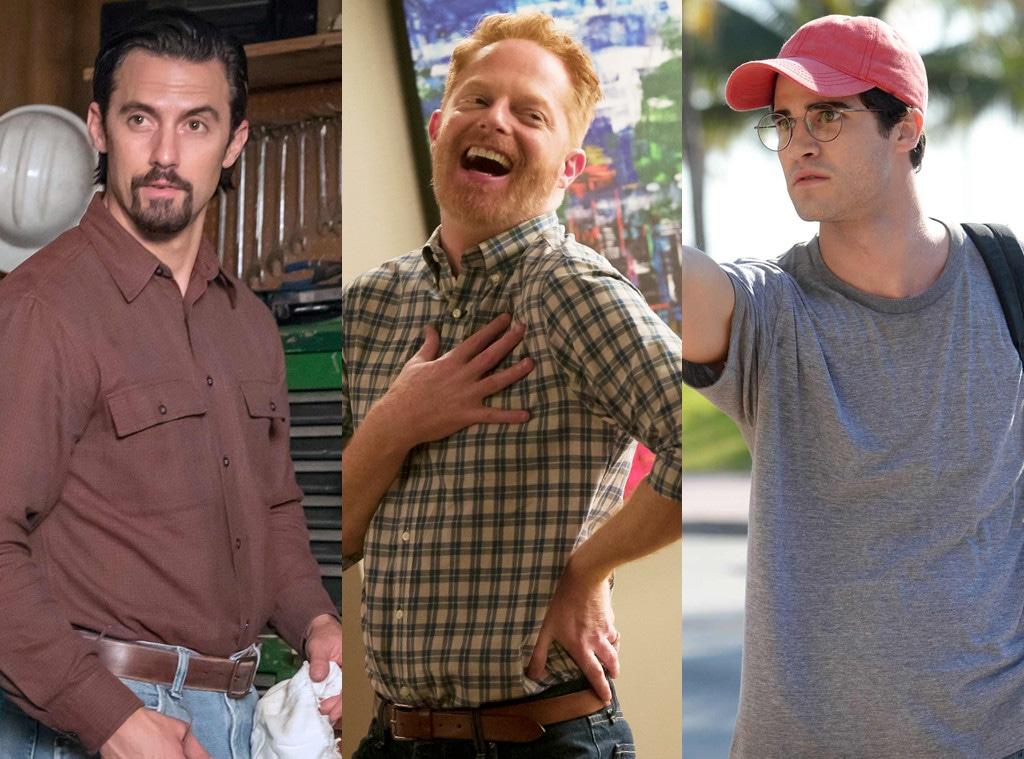 Milo Ventimiglia, Darren Criss, Jesse Tyler Ferguson