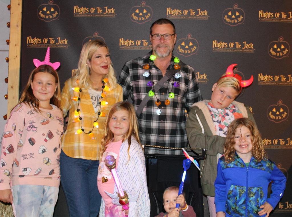 Tori Spelling, Dean McDermott, Halloween 2018