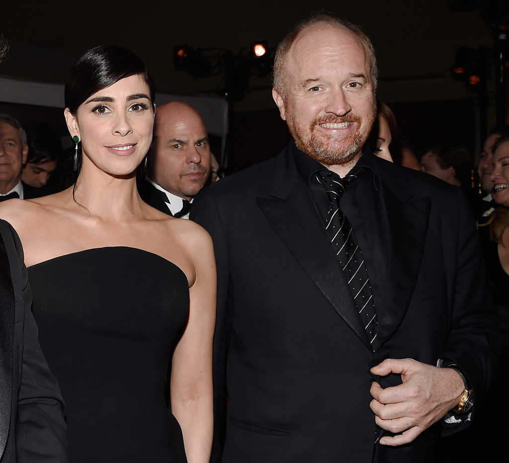 Sarah Silverman, Louis C.K., Oscar Party Pics
