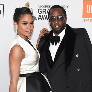 Cassie, Sean Diddy Combs, 2018 Pre-Grammy Gala