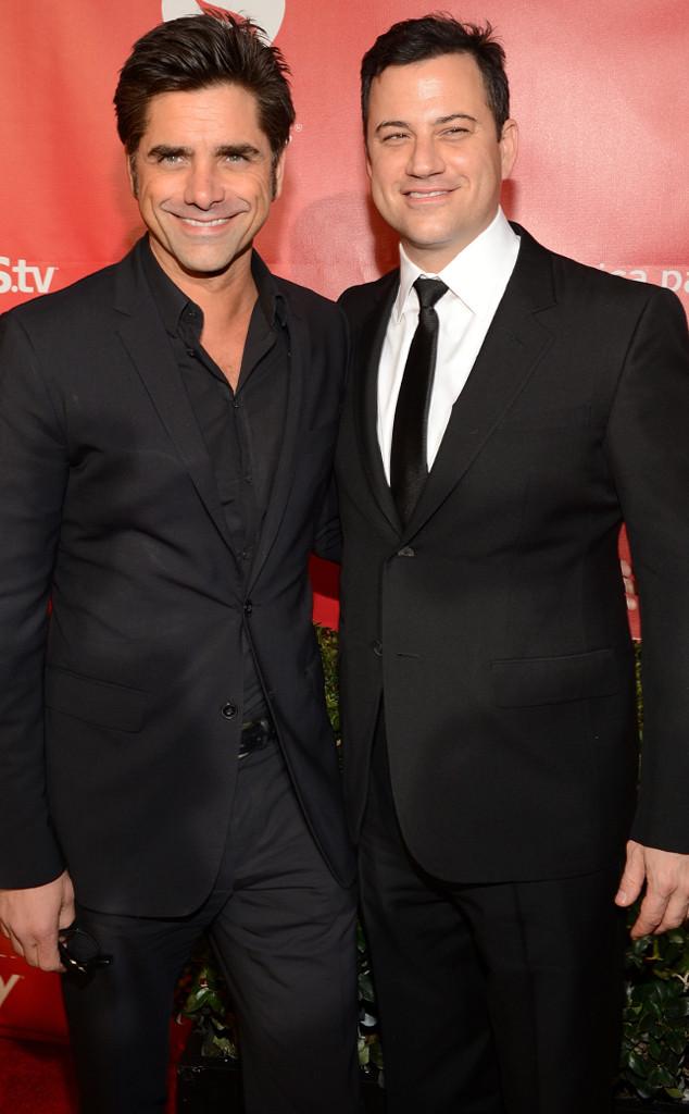 John Stamos, Jimmy Kimmel