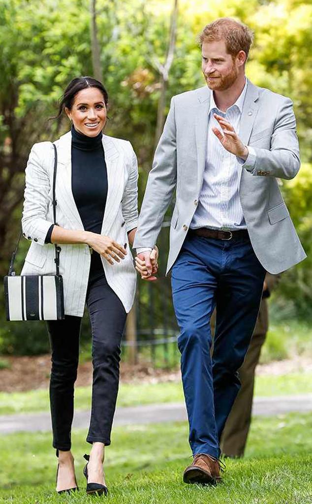 ESC: Meghan Markle, Pregnant, Prince Harry, Royal Tour, Australia, Reception, Prime Minister