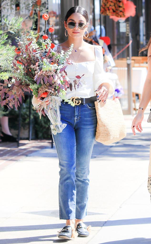 ESC: Vanessa Hudgens, Street Style