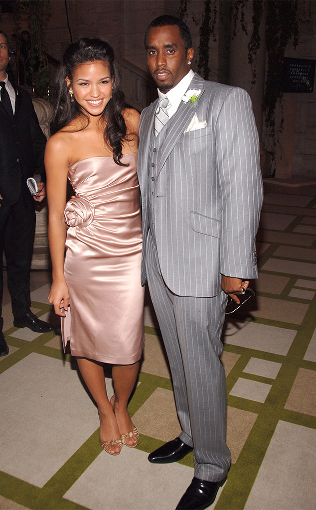 Cassie, Sean 'Diddy' Combs, 2006 CFDA Awards