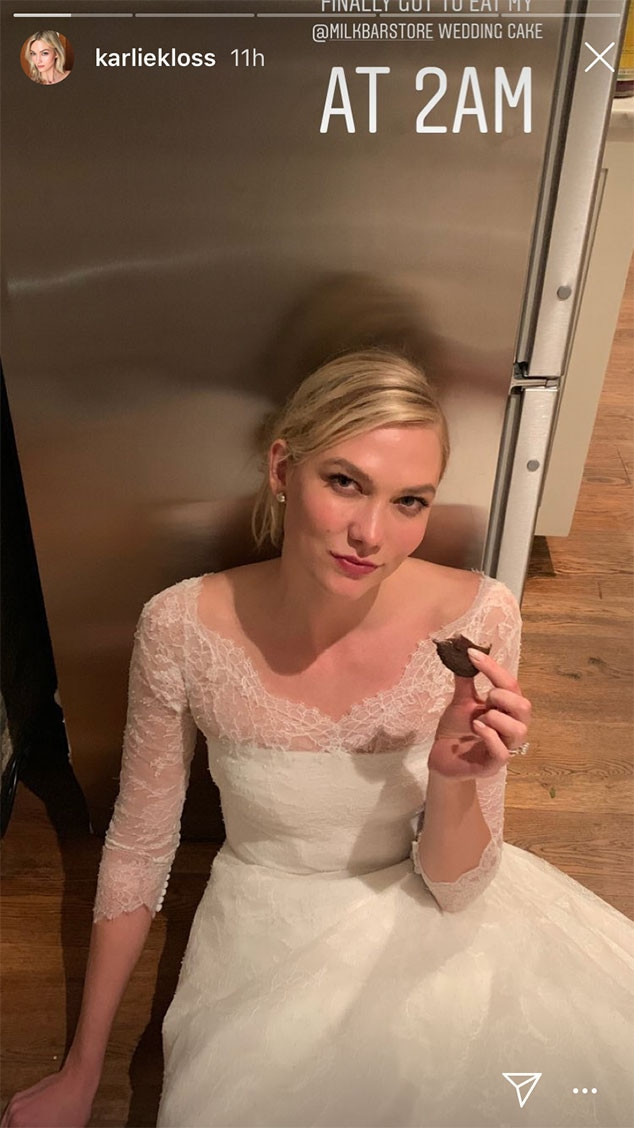 Karlie Kloss, Wedding, Cake