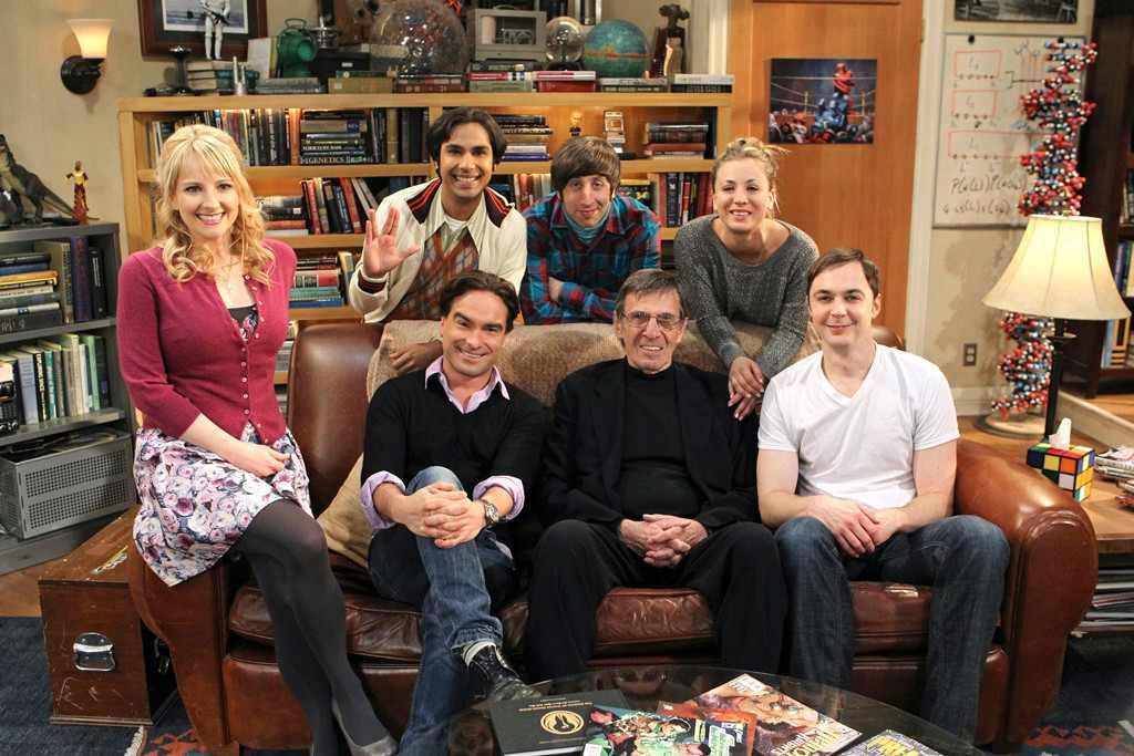 Big Bang Theory Guest Stars, Leonard Nimoy