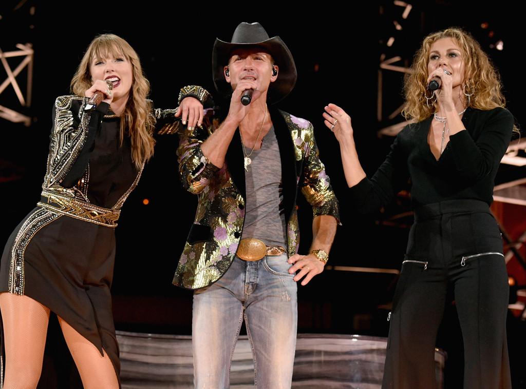 Faith Hill, Tim McGraw, Taylor Swift, Reputation Tour