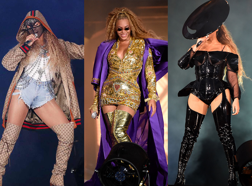 Beyonce, On the Run II tour, concert costumes
