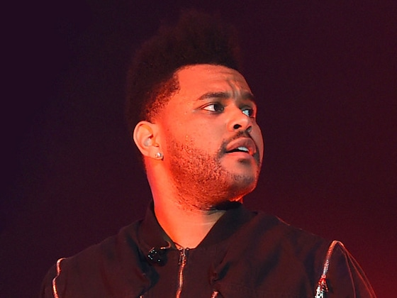 The Weeknd Narrowly Avoids Being Hit by Falling Object on Stage