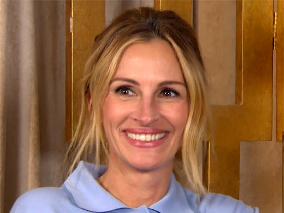 Julia Roberts Reveals Her 50th Birthday Surprise Was Nearly Ruined