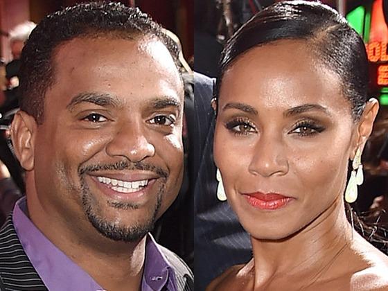 Will Smith's <i>Fresh Prince</i> Co-Star Alfonso Ribeiro Denies Ever Dating Jada Pinkett Smith