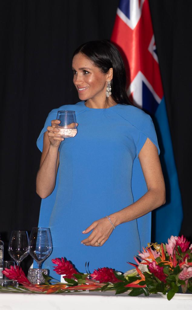 Meghan Markle, Fiji Dinner
