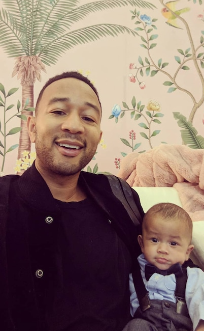 John Legend, Miles Stephens, Instagram