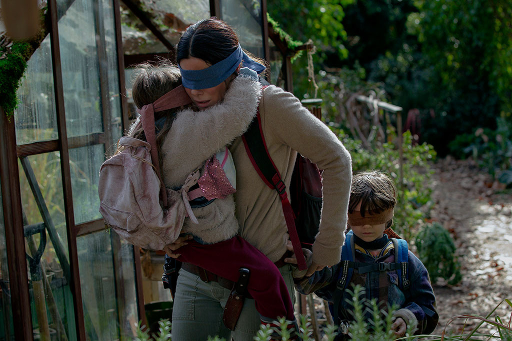 Sandra Bullock, Bird Box, Trailer